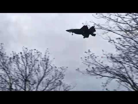 F-35 lander på Ørland