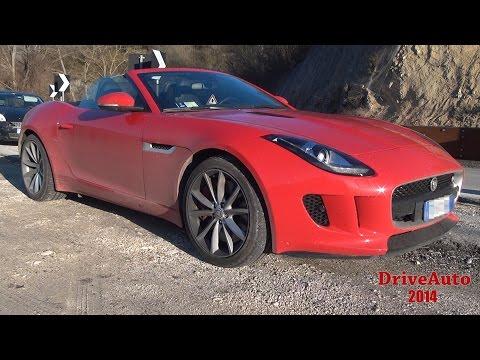 Jaguar F-Type V6 S - Prova su Strada -