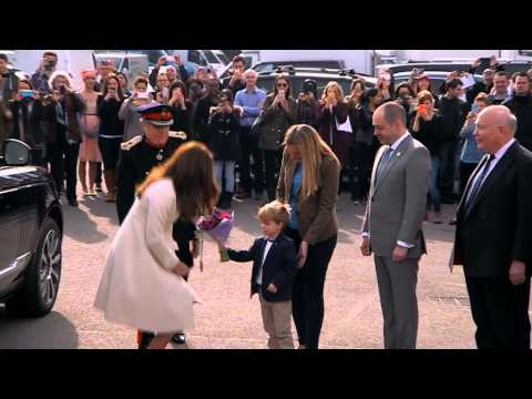 Downton Abbey: Duchess of Cambridge visits set