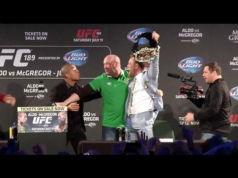 Conor McGregor, Jose Aldo and Dana White reflect on UFC press tour