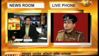 Newsfirst Prime time Sunrise Sirasa TV 24th July 2014