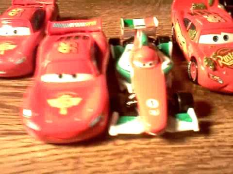 Disney/Pixar Cars diecast collection update