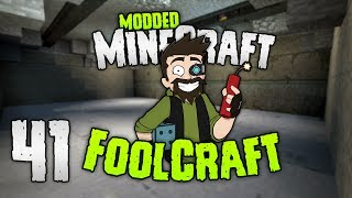 Minecraft: FOOLCRAFT | NOW we're talking BUNKER! | #41 | Modded Minecraft