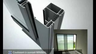 menuiseries aluminium technal fen tres portes v randas. Black Bedroom Furniture Sets. Home Design Ideas
