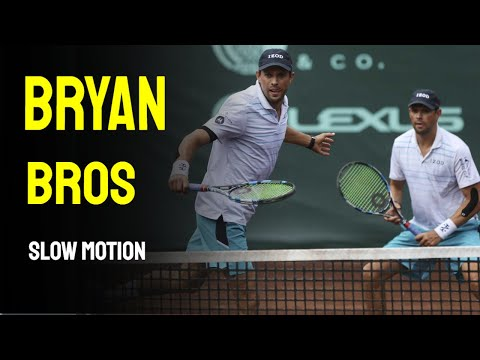Bryan Brothers Slow Motion - Cincinnati Masters 2014