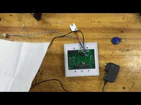AD2000-M wiring explained - RFID