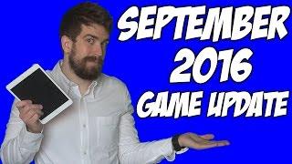 Game Update: September 2016