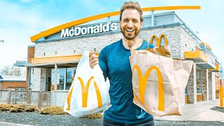 KETO at McDonalds | I Ordered EVERY Keto McDonalds MENU ITEM & This Is What I Thought