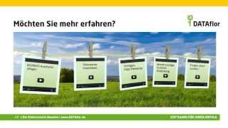 DATAflor BUSINESS - Die Bauakte - Überblick