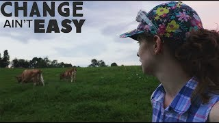 We have been feeding our cows the wrong way... BUT CHANGE AIN'T EASY!