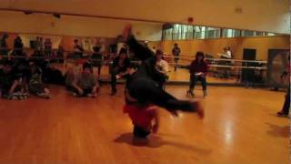 Bonnie Clyde CSLB Battle - Bgirl Peppa / Bboy Nasty Ray vs T-co/ Bgirl Delight