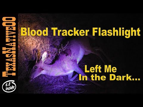 Blood Tracker LED Light for Hunting (Does it Work?) - REVIEW