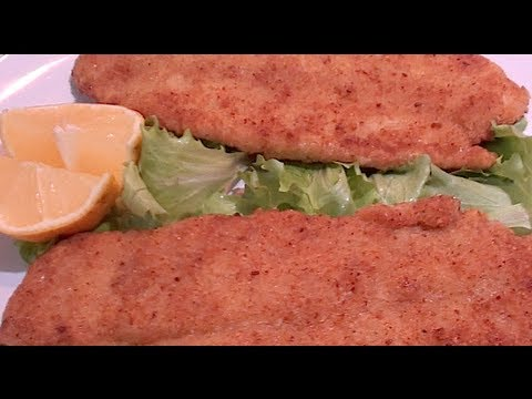 How to make breaded fish fillet youtube for How to make breaded fish