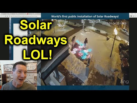 EEVblog #1050 - MORE Solar Roadways LOL!