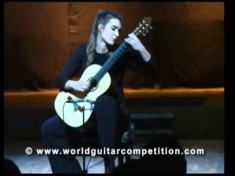 Jelica Mijanović - Performance on the Great Finale of the World Guitar Competition Part 1
