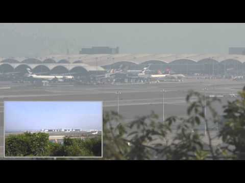 Airport Timelapse Hong Kong Chek Lap Kok VHHH