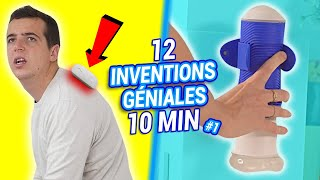 12 INVENTIONS INCROYABLES en 10min #1
