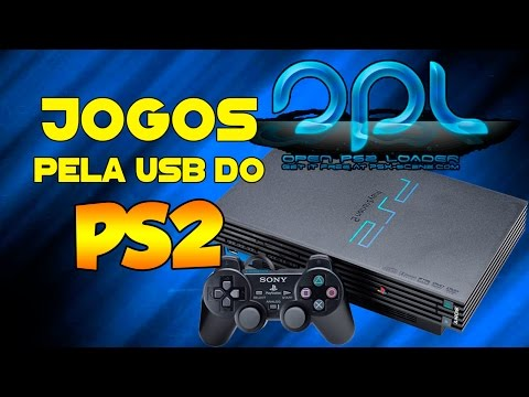 Tutorial - Como Instalar e Rodar jogos de PS2 através de pendrive ou HD externo