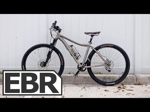 ProdecoTech Titanio 29er Video Review - The Lightest Electric Mountain Bike, Titanium Frame