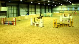 Showjumping 2'9/85cm at Kings Equestrian Centre