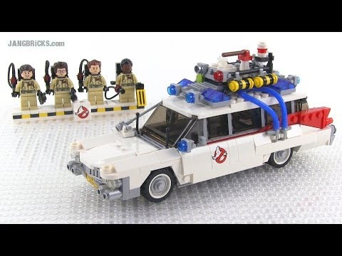 LEGO Ghostbusters Ecto-1 21108 Cuusoo/Ideas set Review!