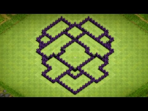 Hey guys its Havoc Gaming here and today i will be bringing you a good town hall 7 hybrid base! It's pretty simple, nothing to crazy :D please like and comme...