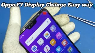 Oppo F7  Display + TOUCH Screen Digitizer Replacement || Oppo f7 Display Change