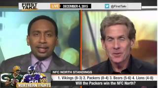 ESPN First Take - Will the Packers Win the NFC North?
