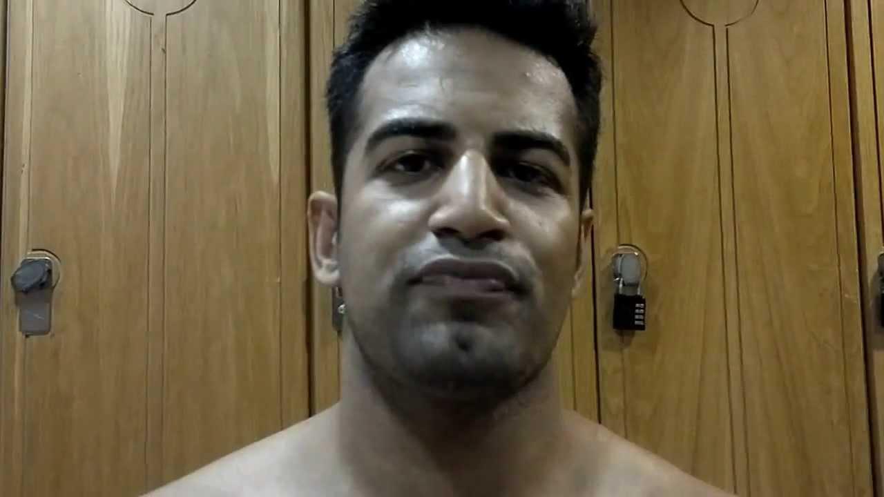 bollywood star upen patel training with kamal faruk