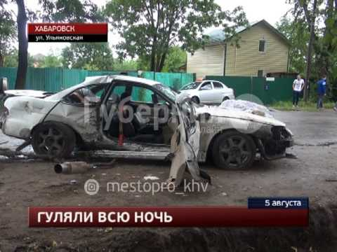 Молодая хабаровчанка погибла в автокатастрофе на окраине города. MestoproTV