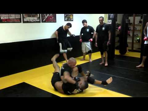 MMA sparring 2013