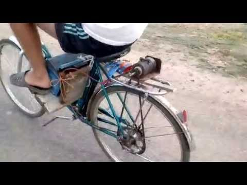 Электродвигатель для велосипеда своими руками видео