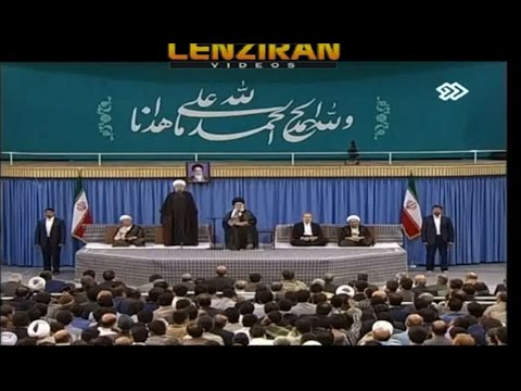Part of Hassan Rouhani speech in Eid Fetr