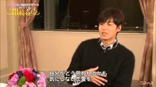 Lee Min Ho   Message for  The Heirs  Promotion in Japan PART [4/4]