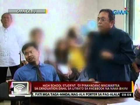High School Student Sa Cebu, 'di Pinayagang Magmartsa Sa Graduation Dahil Sa Litrato Sa Facebook video