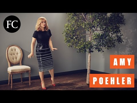 Amy Poehler Is Super Creative In Two Minutes