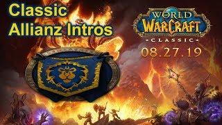 """  Intro der Allianz Völker"" [ Classic World of Warcraft ]"