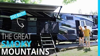 I WAS WRONG ABOUT THE RV SIDE DECK | GREAT SMOKY MOUNTAINS