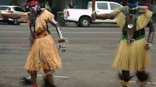 Bamaga Berlibal Dancers at Thursday Island 15 Sep 2016