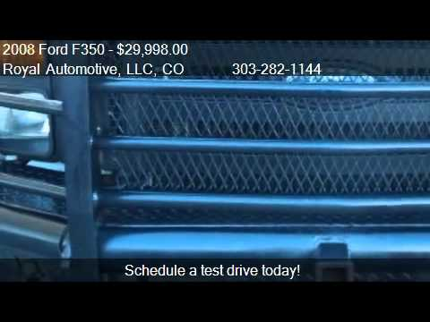 2008 Ford F350 XL Crew Cab 4WD - for sale in Englewood, CO 8