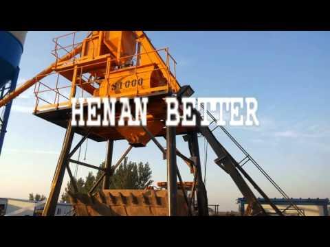 Concrete batching plant ---Henan Better Heavy Industry Co.,Ltd