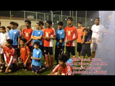 Al Wakra Sports Club Recognition to Al Ethihad Sports Academy Qatar