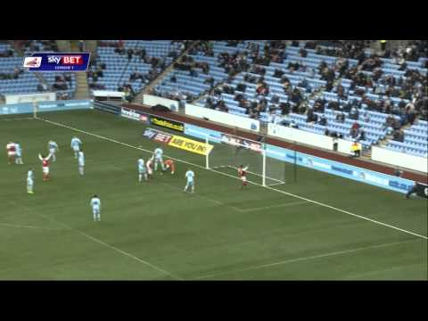 Highlights: Coventry v Fleetwood
