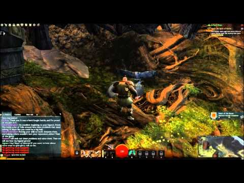Guild wars 2 beta - Norn starting zone first 40 minutes