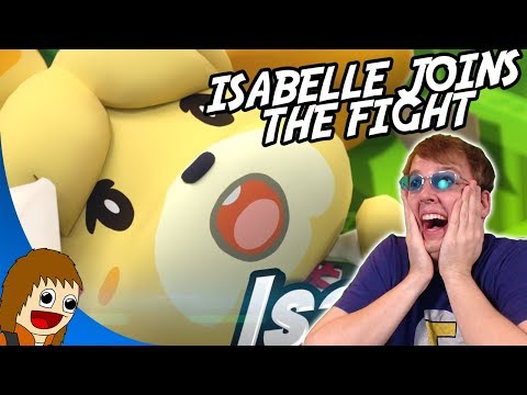 ISABELLE in Smash Ultimate - REACTION