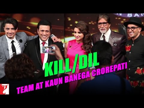 Kill Dil - Team At Kaun Banega Crorepati With Mr.Amitabh Bachchan