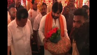 Janasena Pawan Kalyan Visits Continued In Japali At Tirumala  - netivaarthalu.com