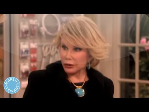 Decorated Valentine's Heart Shaped Bags with Joan Rivers - Martha Stewart