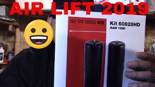 2019 Ram 1500 AIRLIFT 1000 HD