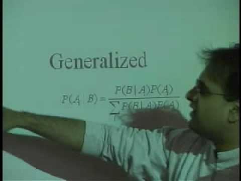 Lecture 2 - Independence, Bayes Theorem, Probability Mass Functions (Part 1/4)